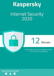 Verpackung von Kaspersky Internet Security 2020  - 3 Geräte / 12 Monate [MULTIPLATFORM]