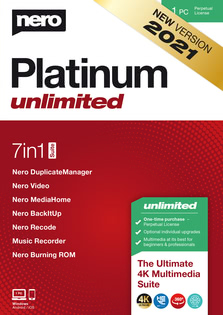 Verpackung von Nero Platinum Unlimited [PC-Software]