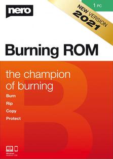 Verpackung von Nero Burning ROM [PC-Software]