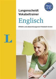 Verpackung von Langenscheidt Vokabeltrainer 7.0 Englisch [PC-Software]