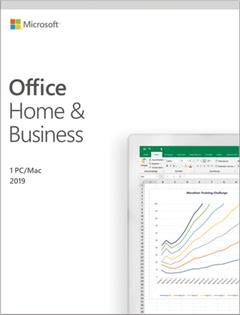 Verpackung von Microsoft Office Home & Business 2019 [MULTIPLATFORM]