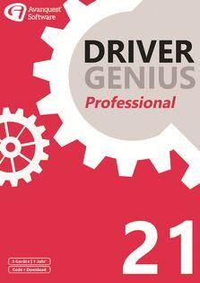 Verpackung von Driver Genius 21 Professional (3 Geräte / 1 Jahr) [PC-Software]