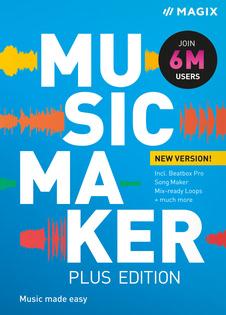 Verpackung von MAGIX Music Maker Plus (2022) [PC-Software]