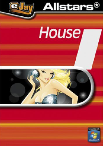 Verpackung von eJay Allstars House [PC-Software]