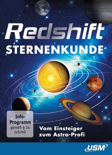 Verpackung von USM Redshift Sternenkunde [PC-Software]