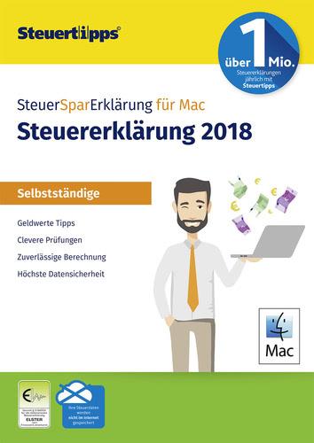 Verpackung von SteuerSparErklärung 2019 (für Steuerjahr 2018) MAC Selbstständige  (Mac) [Mac-Software]