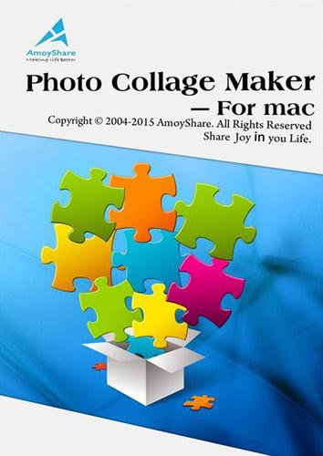 Verpackung von Amoyshare Photo Collage Maker für Mac [Mac-Software]