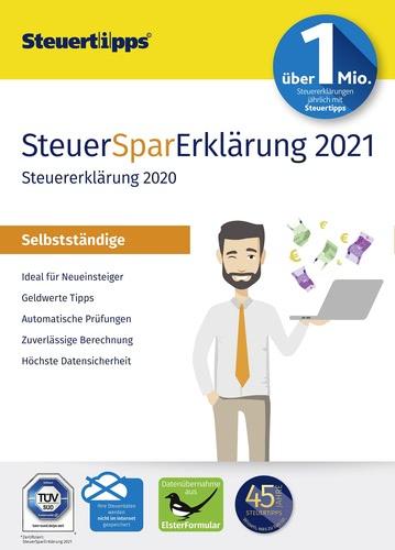Verpackung von SteuerSparErklärung Selbstständige 2021 (für Steuerjahr 2020) [PC-Software]