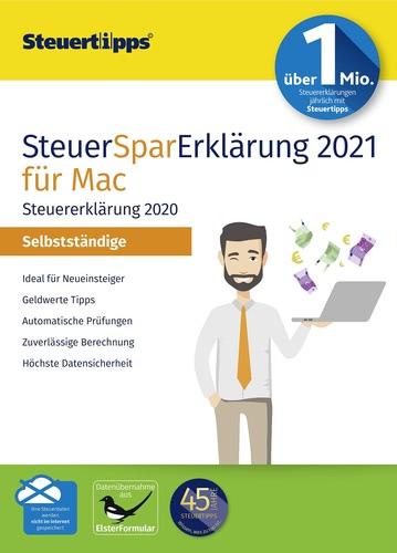 Verpackung von SteuerSparErklärung Selbstständige 2021 (für Steuerjahr 2020) Mac [Mac-Software]