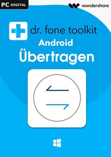 Verpackung von Wondershare Dr. Fone Übertragen (Transfer) Android 5 Geräte 1 Jahr Laufzeit [PC-Software]