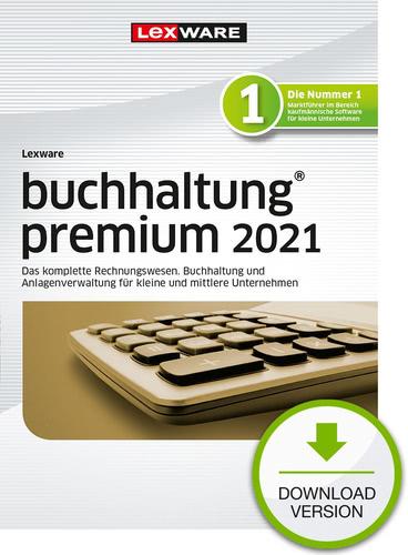 Verpackung von Lexware buchhaltung premium 2021 - Jahresversion (365 Tage) [PC-Software]