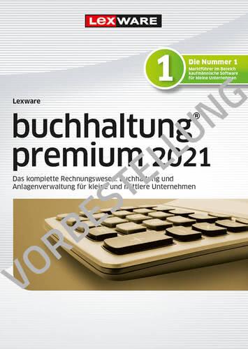 Verpackung von Lexware buchhaltung premium 2022 - Jahresversion (365 Tage) - Vorbestellung [PC-Software]