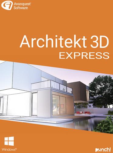 Verpackung von Architekt 3D 21 Express [PC-Software]