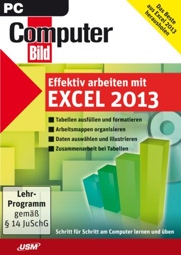 Verpackung von ComputerBild - Effektiv arbeiten mit Excel 2013 [PC-Software]