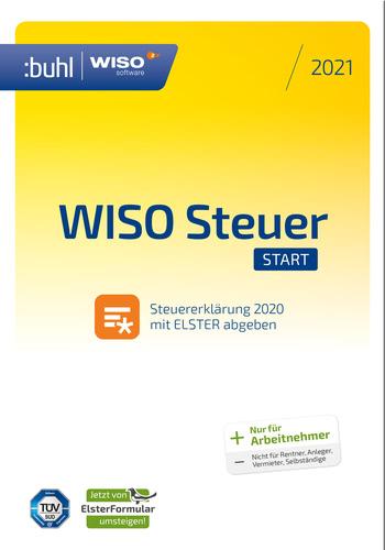 Verpackung von WISO Steuer-Start 2021 (für Steuerjahr 2020) [PC-Software]