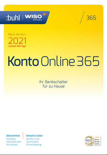 WISO Konto Online 365 (Version 2021) (Download), PC
