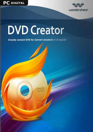 Verpackung von Wondershare DVD Creator - lebenslange Lizenz [PC-Software]