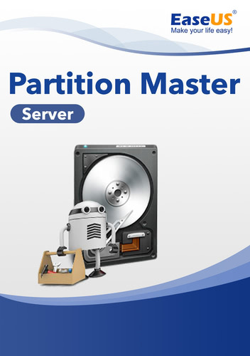 Verpackung von EaseUS Partition Master 14 Server [PC-Software]