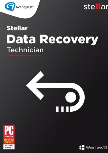 Verpackung von Stellar Windows Data Recovery 8 Technician [PC-Software]