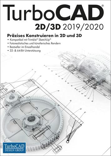 Verpackung von TurboCAD 2D 3D 2019/2020 [PC-Software]