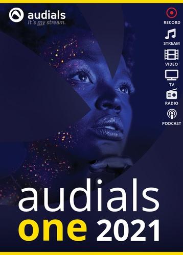 Verpackung von Audials One 2021 [PC-Software]