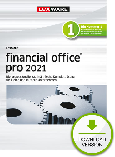 Lexware financial office pro 2021 – Jahresversion (365 Tage) (Download), PC