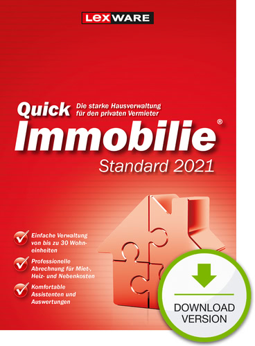 Lexware QuickImmobilie 2021 Standard (Download), PC