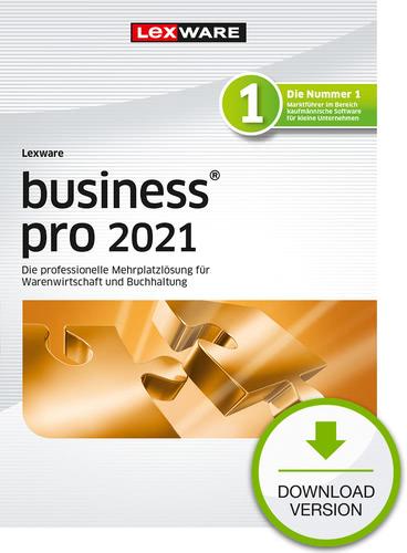 Lexware business pro 2021 – Jahresversion (365 Tage) (Download), PC