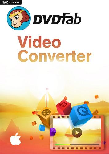 Verpackung von DVDFab Video Converter Mac [Mac-Software]