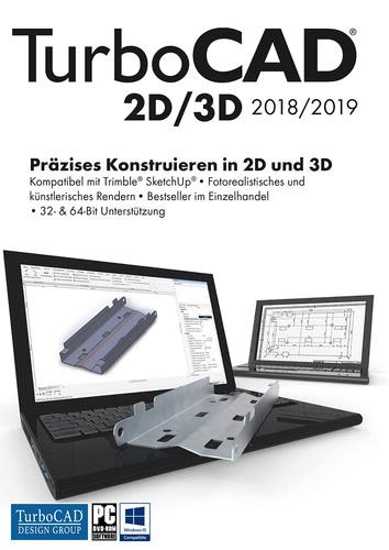 Verpackung von TurboCAD 2D/3D 2018 [PC-Software]