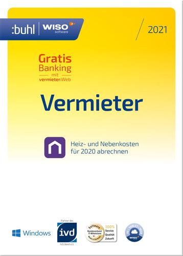 Verpackung von WISO Vermieter 2021 [PC-Software]