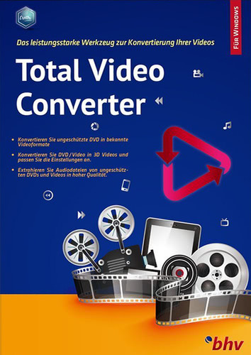 Verpackung von Total Video Converter [PC-Software]