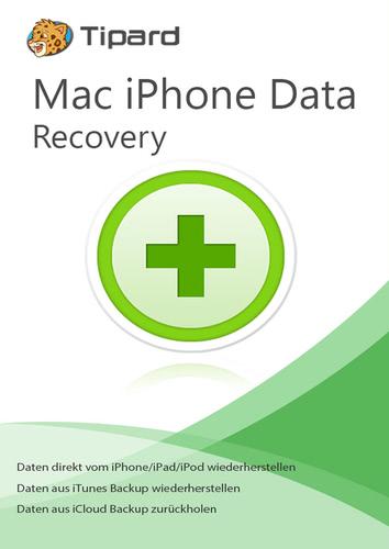 Verpackung von iPhone Data Recovery - lebenslange Lizenz (Mac) [Mac-Software]