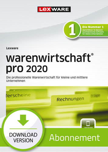 Lexware warenwirtschaft pro 2020 – Abo-Version (Download), PC