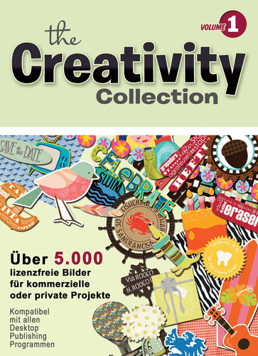 Verpackung von Creativity Collection Volume 1 für PC [PC-Software]