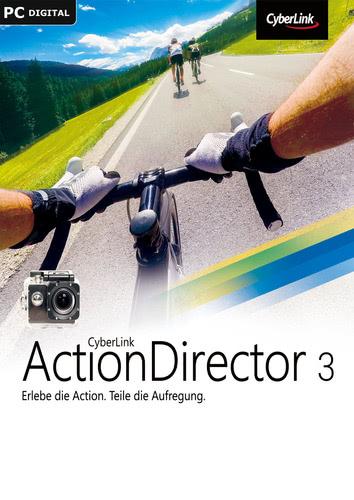 Verpackung von CyberLink ActionDirector 3 [PC-Software]