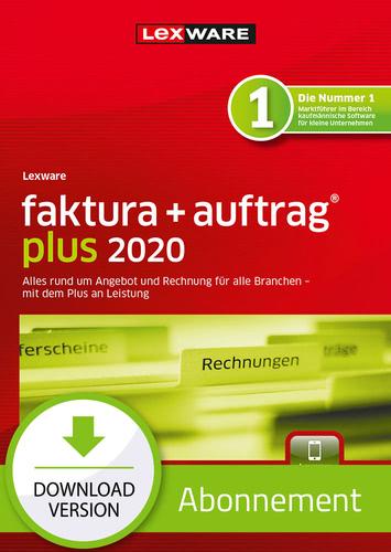 Lexware faktura+auftrag 2020 Plus- Abo Version (Download), PC