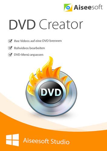 Verpackung von Aiseesoft DVD Creator [PC-Software]