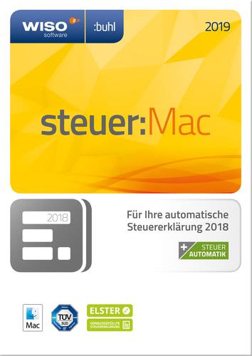 WISO steuer:Mac 2019 (für Steuerjahr 2018) (Download), MAC
