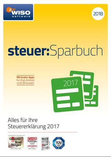 WISO steuer:Sparbuch 2018 (für Steuerjahr 2017) (Download), PC