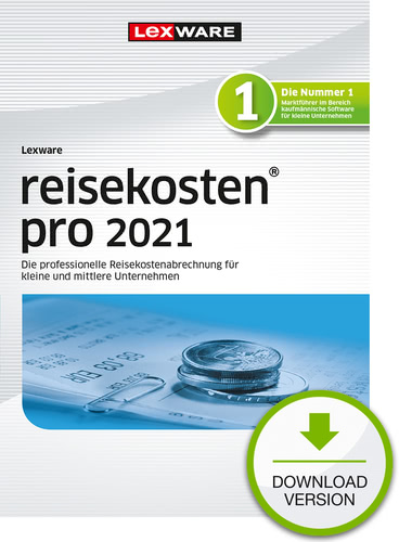 Verpackung von Lexware reisekosten pro 2021 Testversion [PC-Software]