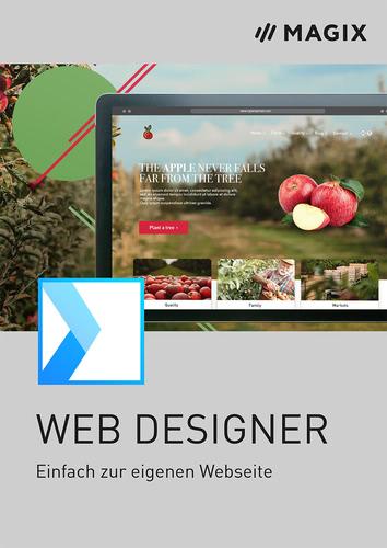 Verpackung von MAGIX Web Designer Standard (Version 18) [PC-Software]