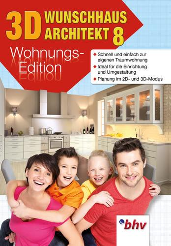 3D Wunschhaus Architekt 8.0 Wohnungs-Edition (Download), PC