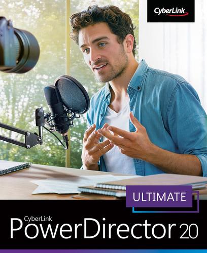 Verpackung von CyberLink PowerDirector 20 Ultimate [PC-Software]