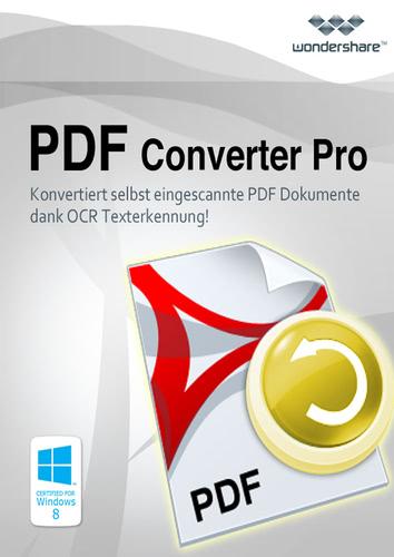 Verpackung von Wondershare PDF Converter Pro (PC) [PC-Software]
