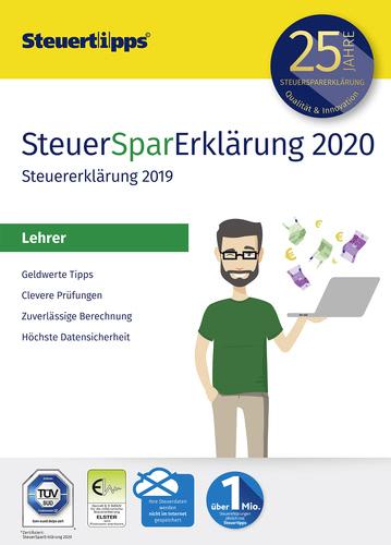 Verpackung von SteuerSparErklärung Lehrer 2020 (für Steuerjahr 2019) [PC-Software]