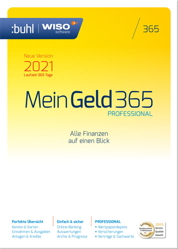 WISO Mein Geld 365 Professional (Version 2021) (Download), PC