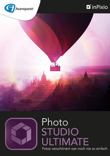 Verpackung von inPixio Photo Studio 10 Ultimate - 1 PC / 1 Jahr [PC-Software]