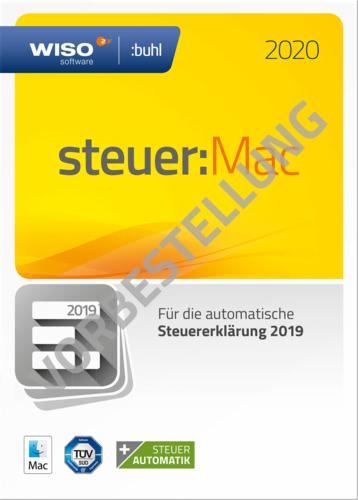Verpackung von WISO steuer:Mac 2021 (für das Steuerjahr 2020) - Vorbestellung [Mac-Software]