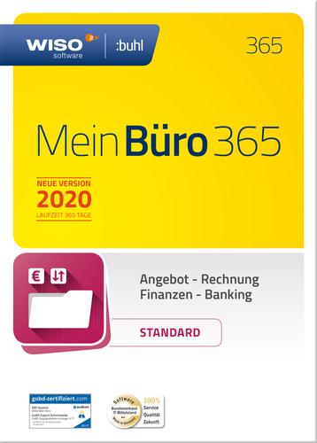 Verpackung von WISO Mein Büro 365 Standard 2020 [PC-Software]